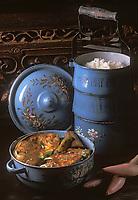 """Asie/Singapour/Singapour: Thon à la vapeur style Nyonya - Recette du restaurant """"Blue Ginger"""""""