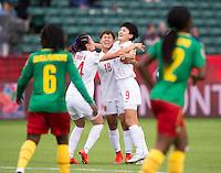 China vs Cameroon, June 20, 2015