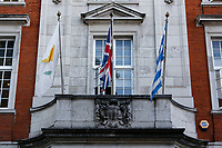 Pictured: The Hellenic Centre in London, UK. Monday 25 June 2018<br /> Re: Greek Prime Minister Alexis Tsipras is on a three day visit to London, UK.