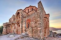 Agia Sofia church in the Byzantine upper town of Monemvasia in Greece