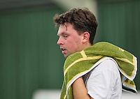 Rotterdam, Netherlands, Januari 24, 2016,  ABNAMROWTT Supermatch, Franko Zivkovic (NED)<br /> Photo: Tennisimages/Henk Koster