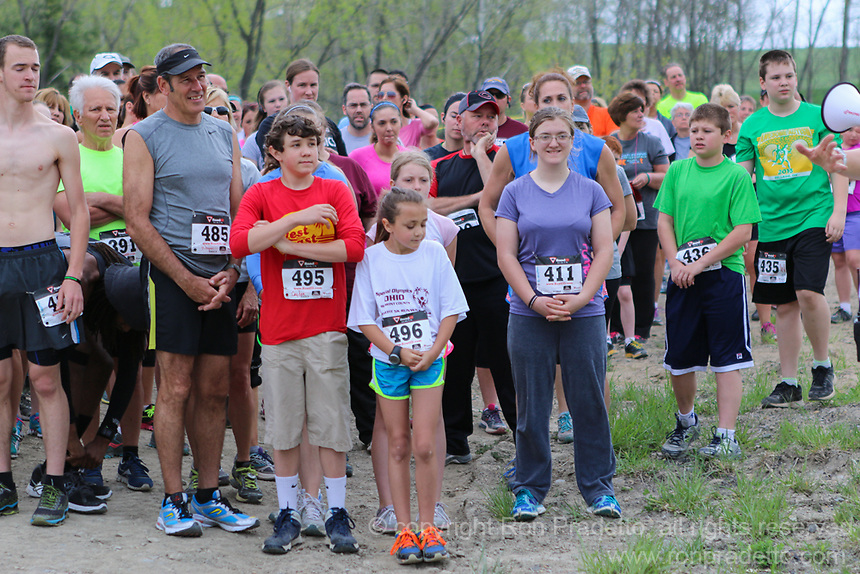 2014 Faith, Family & Friends 5K Run/Walk at the Zion Christian Retreat & Nature Center in Flushing, Ohio on May 10, 2014.