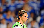 SO KON PO, HONG KONG - JULY 30: Fernanto Torres of Chelsea looks on before the Asia Trophy Final match against Aston Villa at the Hong Kong Stadium on July 30, 2011 in So Kon Po, Hong Kong.  Photo by Victor Fraile / The Power of Sport Images