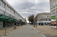 Pictured: General view of Oxford Street. Friday 19 March 2021<br /> Re: City centre of Swansea, Wales, UK.