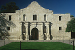 """The Alamo Mission in San Antonio, commonly known simply """"The Alamo"""", was originally known as the Mission San Antonio de Valero. It is a former Roman Catholic mission and fortress compound and the site of the Battle of the Alamo in 1836. It is now a museum in the Alamo Plaza District of Downtown San Antonio, Texas, USA. Built by the Spanish Franciscan priest, Antonio de Olivares, and Payaya Indians, it forms the genesis of the present city of San Antonio, Texas, along with the Presidio San Antonio de Bexar and the Acequia Madre de Valero."""