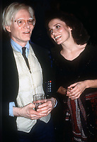 Andy Warhol Margaret Trudeau<br /> Studio 54 1978<br /> Photo By Adam Scull/PHOTOlink.net