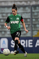 Martina Lenzini of Sassuolo in action during the women Serie A football match between US Sassuolo and Hellas Verona at Enzo Ricci stadium in Sassuolo (Italy), November 15th, 2020. Photo Andrea Staccioli / Insidefoto