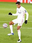 Real Madrid's Raphael Varane during UEFA Champions League match. November 3,2020.(ALTERPHOTOS/Acero)