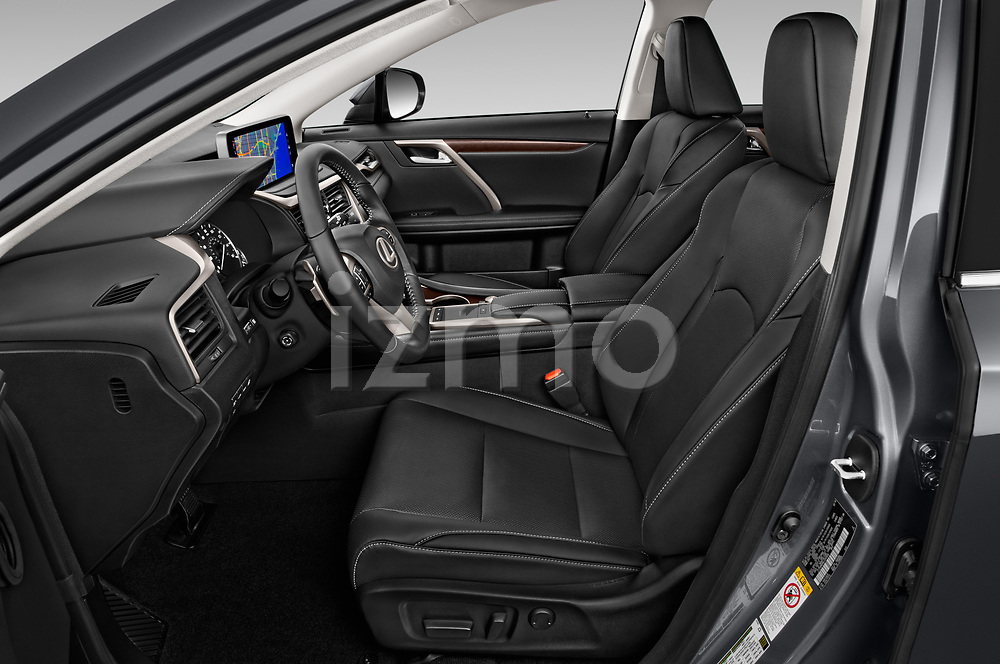 Front seat view of a 2020 Lexus RX Hybrid 450h 5 Door SUV front seat car photos