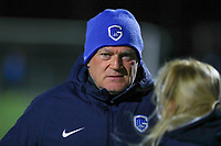 head coach Guido Brepoels of KRC Genk pictured during a female soccer game between  Racing Genk Ladies and RSC Anderlecht on the 16 th matchday of the 2020 - 2021 season of Belgian Scooore Womens Super League , friday 12 th of March 2021  in Genk , Belgium . PHOTO SPORTPIX.BE   SPP   SEVIL OKTEM