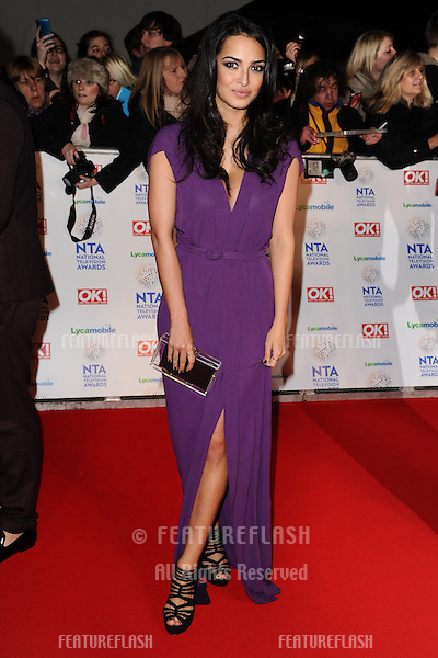 Anna Shaffer<br /> arrives for the National TV Awards 2014 at the O2 arena, Greenwich, London.22/01/2014 Picture by: Steve Vas