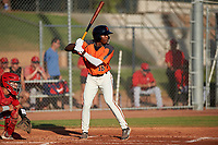 AZL Giants Orange P.J. Hilson (16) at bat during a game against the AZL Angels at Giants Baseball Complex on June 17, 2019 in Scottsdale, Arizona. AZL Giants Orange defeated AZL Angels 8-4. (Zachary Lucy/Four Seam Images)