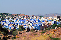 Blue city of Jodhpur, Rajasthan India