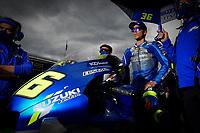 27th September 2020, Circuit de Barcelona Catalunya, Barcelona, MotoGp of Catalunya, Race Day;  Joan Mir ESP