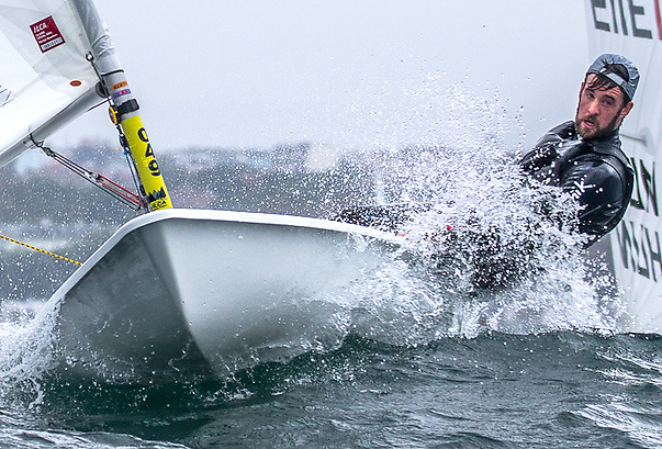 Seventh heaven - Finn Lynch sails into the top ten at the Laser Europeans