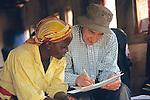 Kenyan Woman & Barrie Callow
