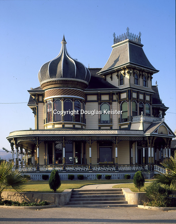 The Morey Mansion .190 Terracina Blvd.Redlands, CA