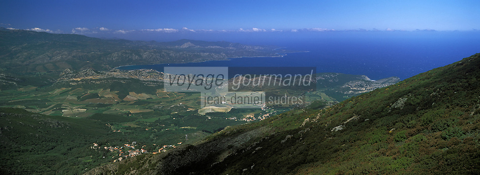Europe/France/Corse/2B/Haute-Corse/Nebbio/Patrimonio: Le vignoble