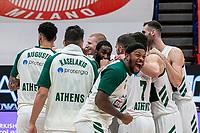 armani - Panatinaikos eurolega basket 2020-2021 - Milano 3 dicembre 2020 - nella foto: panatinaikos gioia vittoria finale