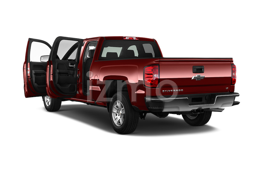 Car images of 2018 Chevrolet Silverado-1500 LT-Double-Cab-Std-Box 4 Door Pick-up Doors