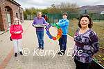 Service users of the RehabCare centre in Tralee on Monday. Front right: Jane O'Donoghue (Programmes Supervisor). Back l to r: Margaret Corcoran, Ger Casey and Shane Crean.