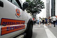 02.04.2018 - Tremor Avenida Paulista em SP