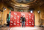 "Juana Acosta and Jorge Perrugoria attends to the presentation of the spanish film ""Vientos de la Habana"" in Madrid. September 27, 2016. (ALTERPHOTOS/Borja B.Hojas)"