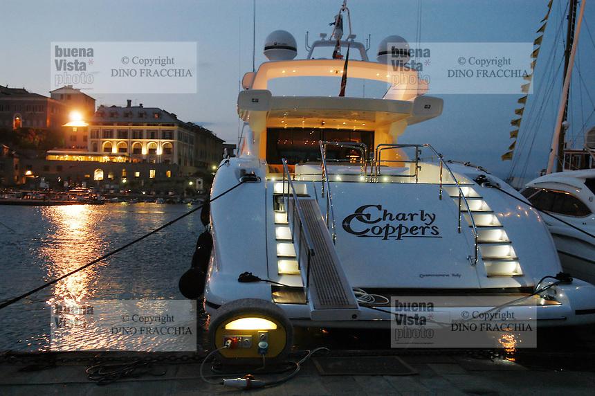 - Portovenere (La Spezia), yacht in the tourist port....- Portovenere (La Spezia), yacht nel porto turistico