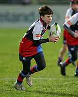 Friday 21st December 2018   Ulster Rugby vs Munster Rugby<br /> <br /> Halftime mini-rugby during the inter-pro clash in the Guinness PRO14 League between Ulster and Munster at Kingspan Stadium, Ravenhill Park, Belfast, Northern Ireland. Photo by John Dickson / DICKSONDIGITAL