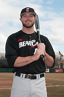 Cincinnati Bearcats outfielder Justin Glass (16) during 1st game of double header against the St. John's Redstorm at Jack Kaiser Stadium on March 28, 2013 in Queens, New York. St. John's defeated Cincinnati 6-5.      . (Tomasso DeRosa/ Four Seam Images)