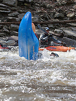 Kayaking on the Tohickon Creek, Bucks County, Pennsylvania
