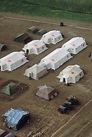 - fiel hospital of Taurinense mountain brigade during exercises of NATO Mobile Force of Immediate Reaction (AMF) in Turkey....- ospedale da campo della brigata alpina Taurinense durante esercitazioni della Forza Mobile NATO di Pronto Intervento (AMF) in Turchia