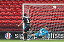 Chris Day of Stevenage saves again<br />  - Walsall v Stevenage - Sky Bet League One - Banks's Stadium, Walsall - 19th October 2013. <br /> © Kevin Coleman 2013
