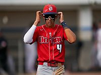 Doral Academy Firebirds Manny Marin (4) during the IMG National Classic on March 29, 2021 at IMG Academy in Bradenton, Florida.  (Mike Janes/Four Seam Images)