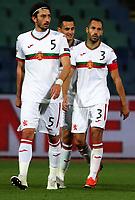 3rd September 2020, Sofia, Bulgaria;  Bulgaria versus Republic of Ireland Uefa Nations League B/Group 4; Kristian DimitrovL and Petar Zanev of Bulgaria