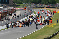 Round 3 of the 2004 British Touring Car Championship. Race start.