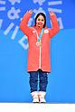 PyeongChang 2018: Ski Jumping: Women's Individual Normal Hill Medal Ceremony