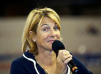 30-09-10, Eindhoven, Tennis, Afas Tennis Classics 2010,  Speaker Marcella Mesker