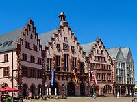 Rathaus Romer in Frankfurt, Hessen, Deutschland, Europa<br /> Townhall Römer in Frankfurt, Hesse, Germany, Europe