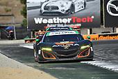 IMSA WeatherTech SportsCar Championship<br /> AMERICA'S TIRE 250<br /> Mazda Raceway Laguna Seca<br /> Monterey, CA USA<br /> Sunday 24 September 2017<br /> 86, Acura, Acura NSX, GTD, Oswaldo Negri Jr., Jeff Segal<br /> World Copyright: Richard Dole<br /> LAT Images<br /> ref: Digital Image DSC_3874
