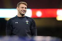 Dan Biggar of Wales during the Wales Captains Run at The Principality Stadium in Cardiff, Wales, UK. Friday 16 November 2018