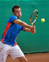 2013-08-17, Netherlands, Raalte,  TV Ramele, Tennis, NRTK 2013, Pedro Mol<br /> <br /> Photo: Henk Koster