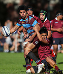 1st XV Rugby, Kings College v De La Salle College, Kings College, Auckland, New Zealand.Saturday 6 May 2017. Photo: Simon Watts/www.bwmedia.co.nz for Kings College