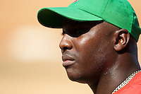 15 February 2009: Joan Carlos Pedroso of the Orientales is seen prior to a training game of Cuba Baseball Team for the World Baseball Classic 2009. The national team is pitted against itself, divided in two teams called the Occidentales and the Orientales. The Orientales win 12-8, at the Latinoamericano stadium, in la Habana, Cuba.