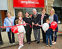 Falkirk's Deputy Provost, Councillor John Patrick cuts the ribbon to officially open the Amplifon's new Falkirk branch.<br /> <br /> <br /> 29/06/2016    005_amplifon  <br /> Copyright  Pic : James Stewart   <br /> James Stewart Photography, 19 Carronlea Drive, Falkirk. FK2 8DN  <br /> Vat Reg No. 607 6932 25  <br /> Mobile : +44 (0)7721 416997  <br /> E-mail  :  jim@jspa.co.uk  <br /> If you require further information then contact Jim Stewart on any of the numbers above ...