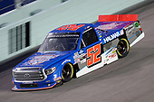 HOMESTEAD, FLORIDA - JUNE 13: Stewart Friesen, driver of the #52 Halmar Racing To Beat Hunger Toyota, races during the NASCAR Gander RV & Outdoors Truck Series Baptist Health 200 at Homestead-Miami Speedway on June 13, 2020 in Homestead, Florida. (Photo by Chris Graythen/Getty Images)