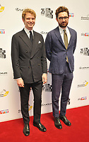 Alexander Owen and Ben Ashenden at the South Bank Sky Arts Awards 2021, The Savoy Hotel, the Strand, on Monday 19 July 2021, in London, England, UK. <br /> CAP/CAN<br /> ©CAN/Capital Pictures
