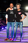 Nacho Montes and Jesus Olmedo during the fashion show By Nerea Garmendia of his 2nd Anniversay at COAM in Madrid. June 06. 2016. (ALTERPHOTOS/Borja B.Hojas)