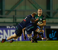 20th February 2021; Galway Sportsgrounds, Galway, Connacht, Ireland; Guinness Pro 14 Rugby, Connacht versus Cardiff Blues; Jordan Duggan holds on to the ball under pressure for Connacht