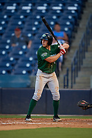 Daytona Tortugas Drew Mount (10) at bat during a Florida State League game against the Tampa Tarpons on May 17, 2019 at George M. Steinbrenner Field in Tampa, Florida.  Daytona defeated Tampa 8-6.  (Mike Janes/Four Seam Images)
